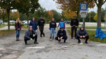 21.10.2020 – Black Hawks beteiligen sich erneut an der Landschaftssäuberungs-Aktion der Stadt Plattling